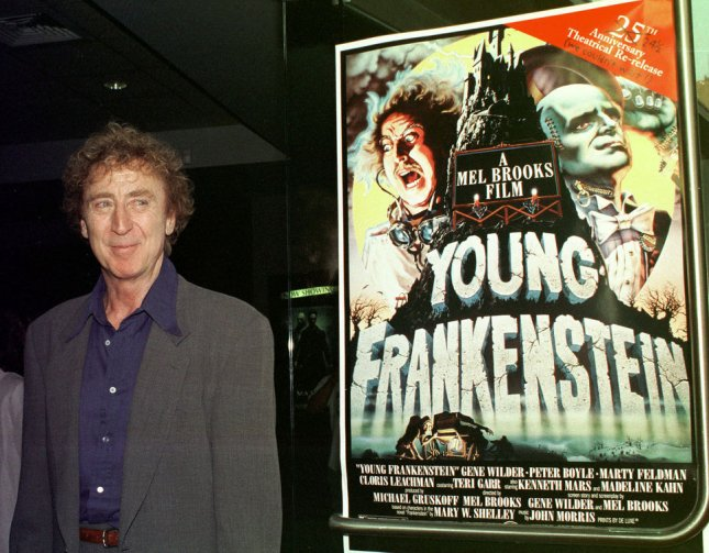 Legendary actor Gene Wilder died Monday at the age of 83 following a battle with Alzheimer's Disease. File Photo by Ezio Petersen/UPI