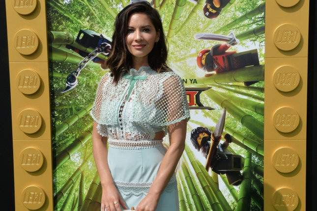 Cast member Olivia Munn, the voice of Koko in the animated comedy The Lego Ninjago Movie, attends the premiere of the film in Los Angeles on September 16. Photo by Jim Ruymen/UPI