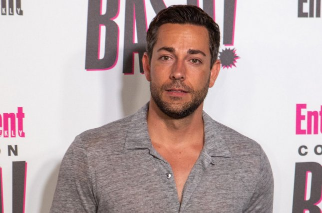 Shazam! star Zachary Levi. The actor has released the first poster for the DC Comics epic. File Photo by Howard Shen/UPI