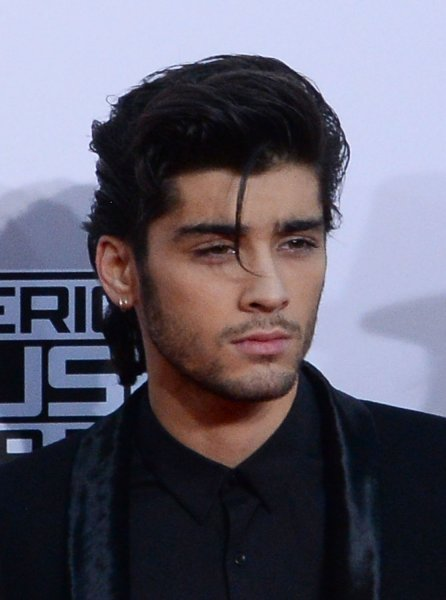 Zayn Malik at the American Music Awards on November 23, 2014. The singer will produce a new NBC series about boy bands with Law & Order creator Dick Wolf. File photo by Jim Ruymen/UPI