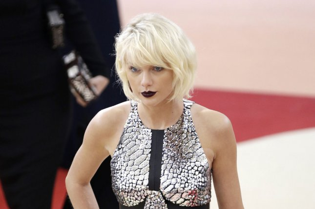 Taylor Swift arrives on the red carpet at the Costume Institute Benefit at The Metropolitan Museum of Art last year. File Photo by John Angelillo/UPI