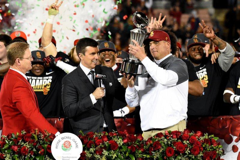 c6aeef027c9 Clay Helton to return as head coach of USC Trojans in 2019 - UPI.com