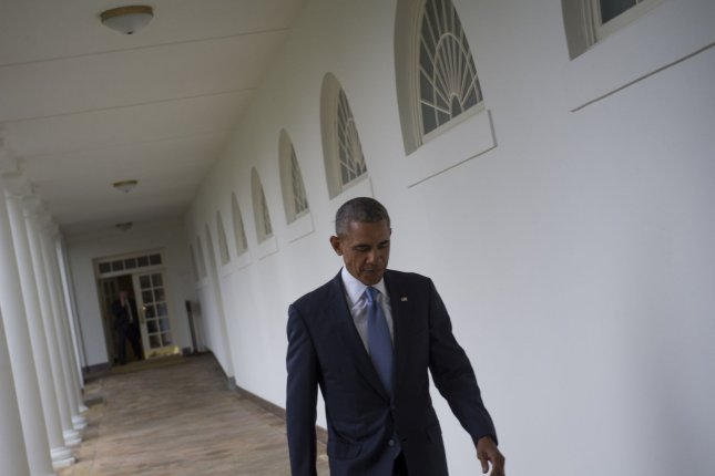 The administration of President Barack Obama, the report said, was concerned express and overt warnings about foreign influence might undermine voters' confidence. File Photo by Rod Lamkey/UPI/Pool