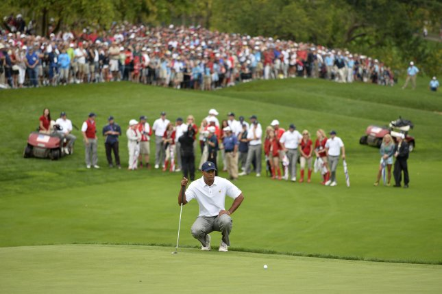 Muirfield Village Golf Club in Dublin, Ohio, can allow up to 8,000 fans for the Memorial Tournament July 13 to 19 in Dublin, Ohio. File Photo by Brian Kersey/UPI