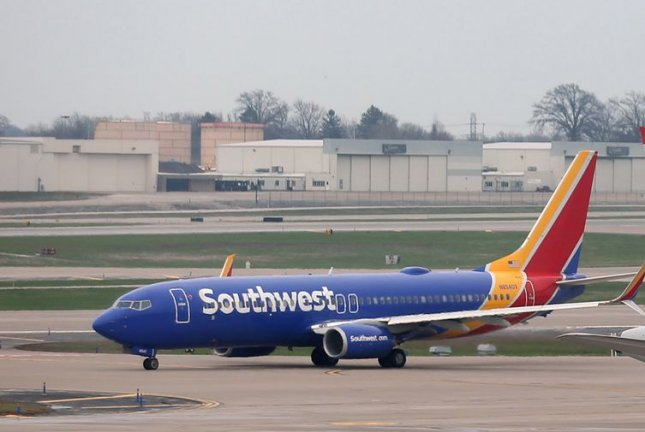 Southwest Airlines CEO Gary Kelly said Monday 28% of the workforce has agreed to sign up for early retirement buyouts or extended leaves of absence. File Photo by Bill Greenblatt/UPI