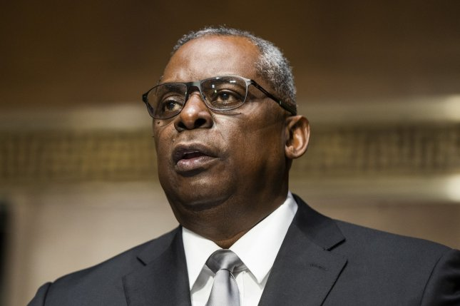Retired General Lloyd Austin testifies Tuesday before the Senate Armed Services Committee during his confirmation hearing to be the next Secretary of Defense at the U.S. Capitol in Washington, D.C. Pool Photo by Jim Lo Scalzo/UPI