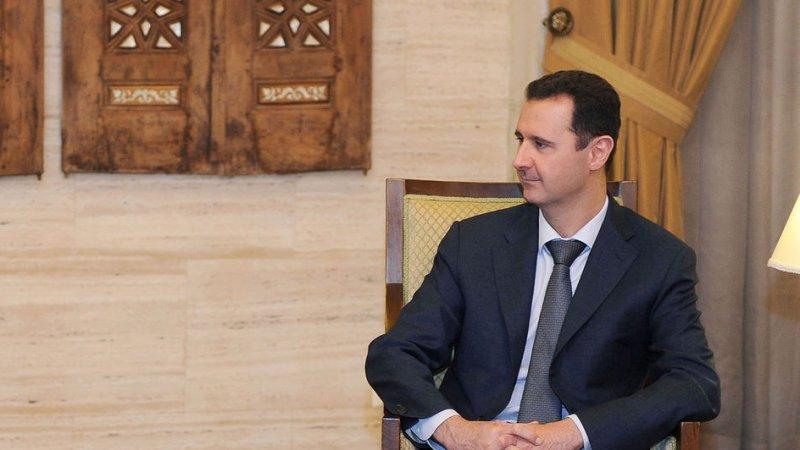 Syrian President Bashar Assad in Damascus, Syria, on March 10, 2012. UPI