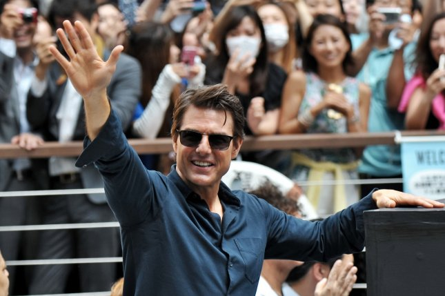 Tom Cruise is to reprise his iconic role of Maverick in Top Gun 2. File photo by Keizo Mori/UPI