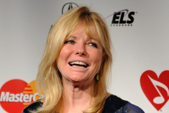 Cheryl Tiegs arrives at the 2011 MusiCares Person of the Year tribute honoring Barbra Streisand in Los Angeles on February 11, 2011. File Photo by Jim Ruymen/UPI