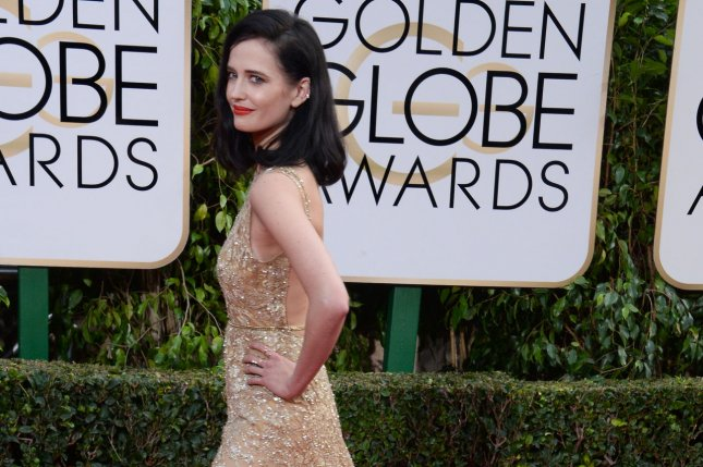 Penny Dreadful actress Eva Green attends the 73rd annual Golden Globe Awards in Beverly Hills on January 10, 2016. File Photo by Jim Ruymen/UPI