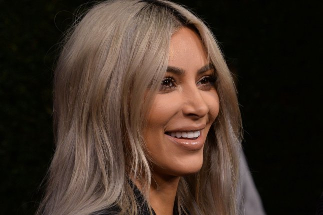 Kim Kardashian shared a cute picture of daughter Chicago on Monday. File Photo by Jim Ruymen/UPI