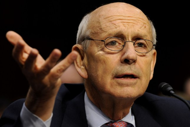 Supreme Court Justice Stephen Breyer in 2011 -- UPI/Roger L. Wollenberg