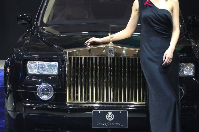 An 'armorized' luxury car (capable of stopping high-caliber bullets),is on  display at the world's biggest automobile show, Auto China 2012, in Beijing  April ...