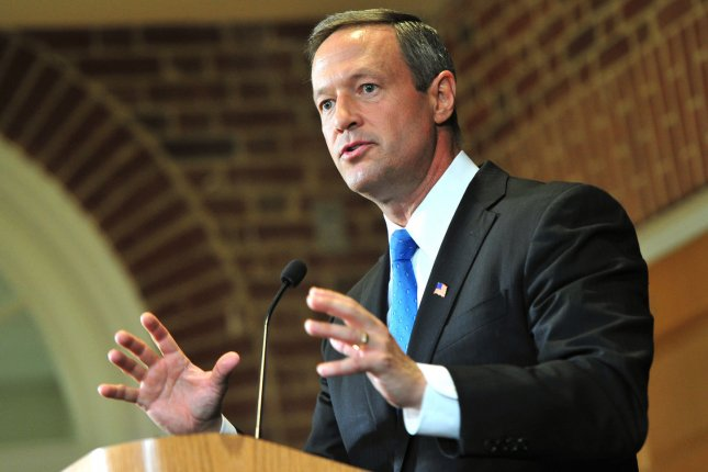 Maryland Gov. Martin O'Malley has signed a hike of the state's minimum wage to $10.10. (UPI/Kevin Dietsch)