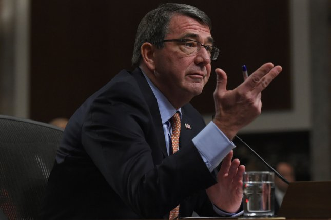Recently appointed Secretary of Defense Ashton Carter is now the head of an institution whose personnel can be unprofessional, unethical or morally questionable, according to former Secretary of Defense Chuck Hagel. File photo by Molly Riley/UPI