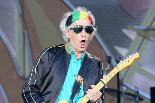 Keith Richards has released Trouble, the first single off of his new solo album Crosseyed Heart. Photo by David Silpa/UPI
