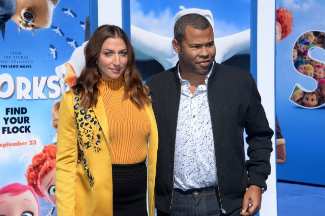 Report Jordan Peele Chelsea Peretti Welcome First Child Upi Com