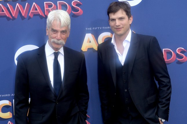 Actors Sam Elliott (L) and Ashton Kutcher are set to return for a fourth and final season of The Ranch on Netflix. File Photo by Jim Ruymen/UPI