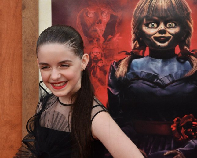 Mckenna Grace attends the premiere of Annabelle Comes Home in Los Angeles in 2019. File Photo by Jim Ruymen/UPI