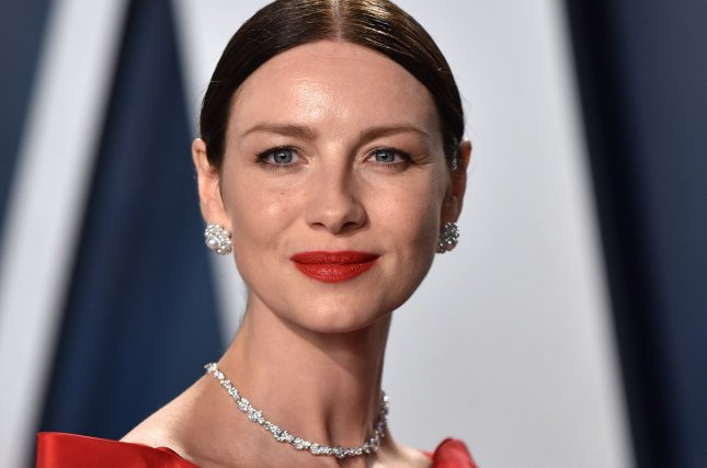 Caitriona Balfe will soon be seen in a series of Outlander specials on Facebook. File Photo by Chris Chew/UPI