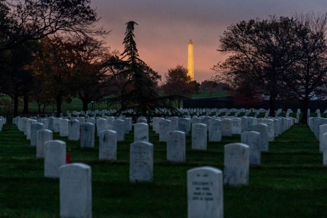 All restrictions on Memorial Day 2021 visits to national cemeteries, including Arlington National Cemetery in Washington, D.C., by vaccinated visitors were lifted by the Department of Veterans Affairs on Friday. File Photo by Ken Cedeno/UPI