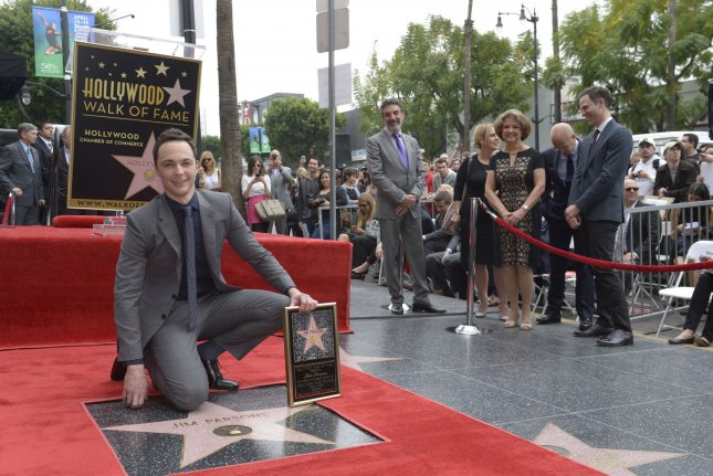 Jim Parsons honored with Walk of Fame star - UPI com