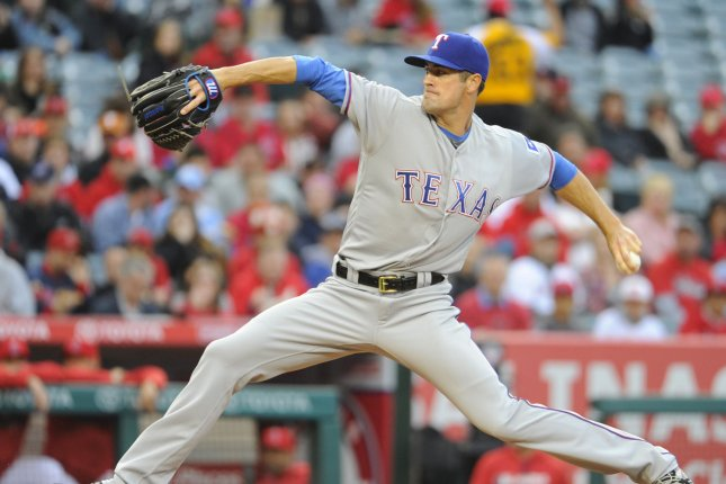 Texas Rangers starting pitcher Cole Hamels. Photo by Lori Shepler/UPI.