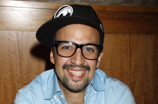 Hamilton is expected to win big at Sunday's Tony Awards ceremony. Lin-Manuel Miranda, creator and star of the show is seen here in 2012 at a CD signing at Barnes & Noble in New York. File Photo by Laura Cavanaugh/UPI