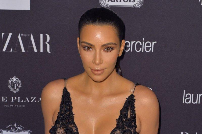Kim Kardashian resurfaces for family Christmas party