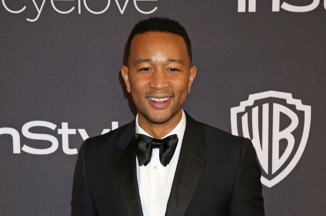John Legend attends the 18th annual InStyle and Warner Bros. Golden Globe after-party at the Beverly Hilton Hotel in Beverly Hills, Calif., on January 8. The musician is to perform at the Grammy Awards ceremony on Feb. 12. Photo by David Silpa/UPI