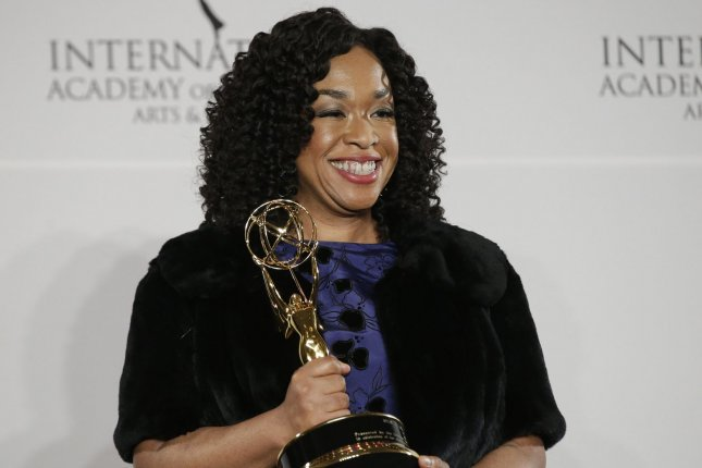 Grey's Anatomy creator Shonda Rhimes discussed the latest cast exit following Thursday's episode. File Photo by John Angelillo/UPI