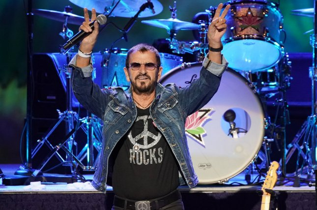 Ringo Starr discussed the Beatles still being popular with younger generations on Jimmy Kimmel Live. File Photo by John Angelillo/UPI