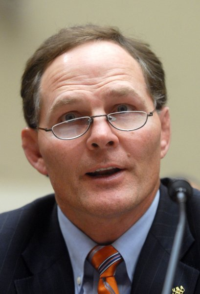 Jim Scherr CEO of the U.S. Olympic Committee seen on this February 27, 2008 file photo. (UPI Photo/Kevin Dietsch)