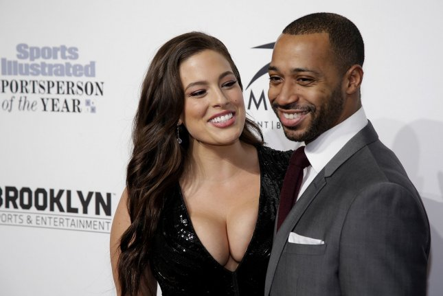 Ashley Graham (L), pictured with Justin Ervin, said her decision to not sleep with Ervin until their wedding day made their relationship stronger. File Photo by John Angelillo/UPI