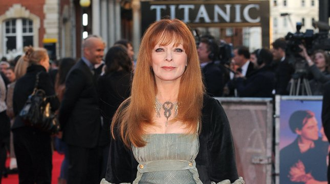 Frances Fisher attends the World Premiere of Titanic 3D at The Royal Albert Hall in London on March 27, 2012. UPI/Paul Treadway