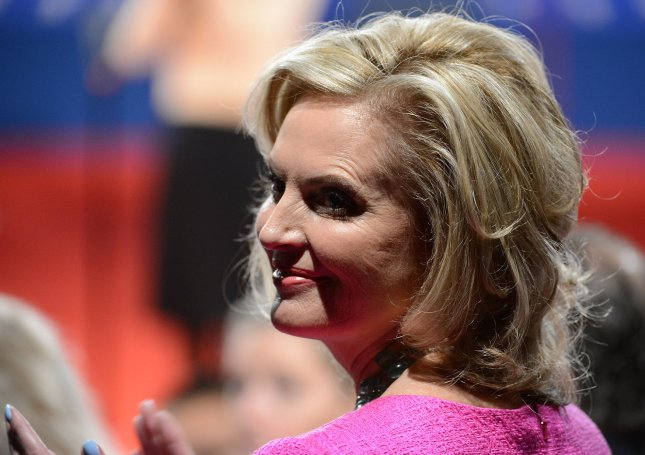 Ann Romney arrives for Republican nominee Mitt Romney's and President Barack Obama's second Presidential Debate, Town-Hall style, at Hofstra University on October 16, 2012 in Hempstead, New York. UPI/Pat Benic