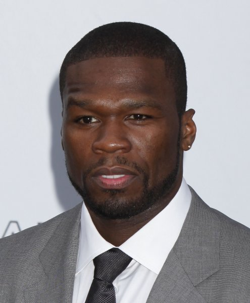 Rapper 50 Cent (Curtis Jackson) arrives at the amfAR Cinema Against AIDS 2009 gala at the Hotel du Cap in Antibes, France on May 21, 2009. The event, held each year during the Annual Cannes Film Festival, raises funds for AIDS research. (UPI Photo/David Silpa)