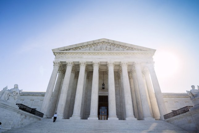 The Supreme Court's decision overturned a ruling by the 9th U.S. Circuit Court of Appeals on a statute about when immigrants who committed crimes making them eligible for deportation must be arrested. File Photo by Kevin Dietsch/UPI