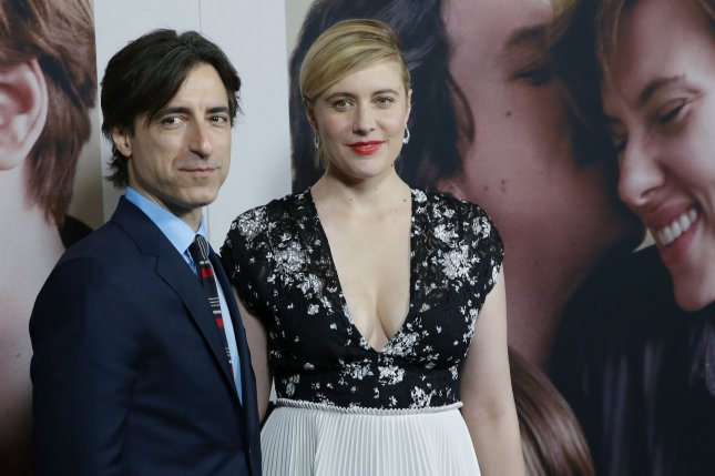 Greta Gerwig (R) discussed her working relationship with her partner, Noah Baumbach, in the January issue of Vogue. File Photo by John Angelillo/UPI