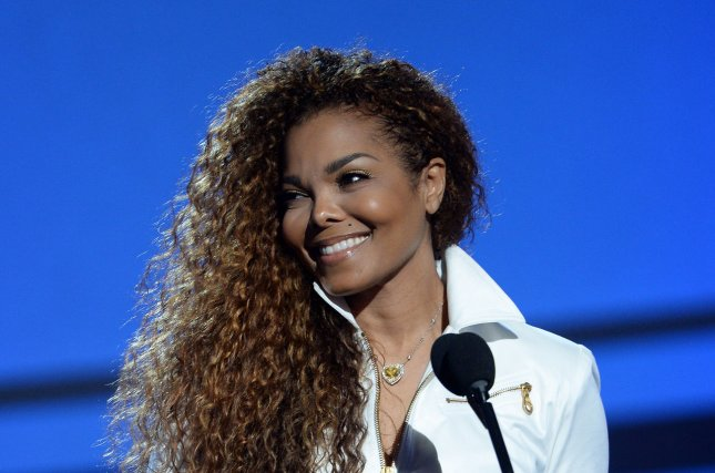 Janet Jackson accepts the Ultimate Icon: Music Dance Visual award during the 15th annual BET Awards at the Microsoft Theater in Los Angeles on June 28, 2015. Jackson is among the list of 19 artists eligible for induction into the Rock and Roll Hall of Fame. File Photo by Jim Ruymen/UPI
