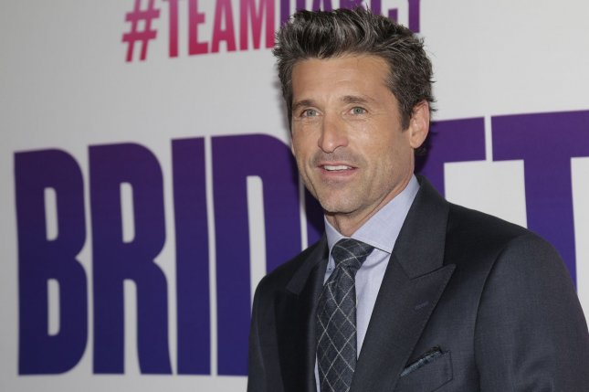 Patrick Dempsey attends the New York premiere of Bridget Jones's Baby on September 12, 2016. File Photo by John Angelillo/UPI