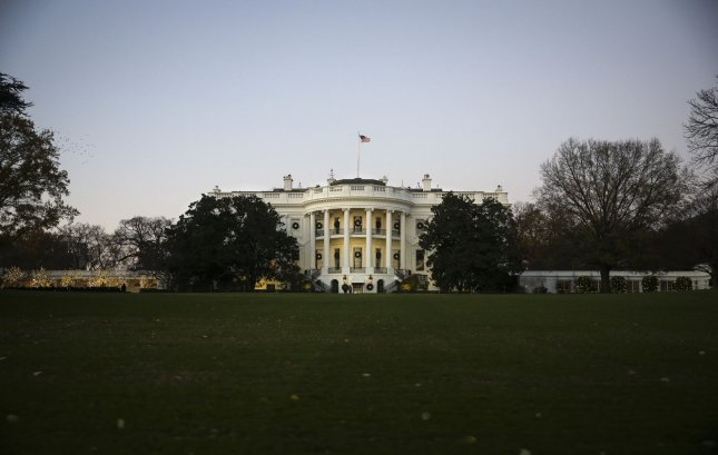 A man was arrested outside the White House on Saturday after telling a Secret Service member he planned to assassinate President Donald Trump while carrying a knife. File Photo by Oliver Contreras/UPI