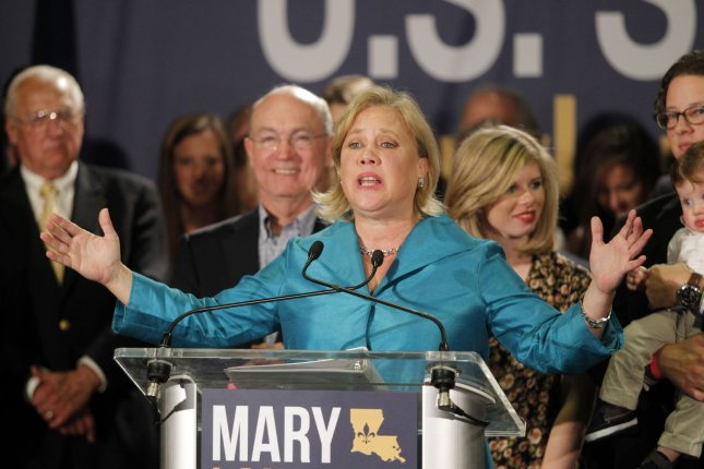 U.S. Senator Mary Landrieu (D-LA) speaks to supporters at the Hyatt Regency Hotel in New Orleans on election night, November 4, 2014. Landrieu is heading into a runoff with U.S. Representative Bill Cassidy (R-LA). The runoff will be held December 6, 2014. UPI/A.J. Sisco