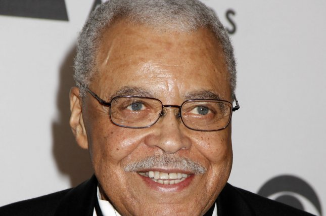 James Earl Jones is pictured here at the 2012 Tony Awards. He will reunite with Richard Thomas for the first time in more than half a century in Broadway's You Can't Take It with You next month. UPI /Laura Cavanaugh