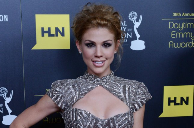 Kate Mansi at the Daytime Emmy Awards on June 23, 2012. The actress will reportedly depart Days of Our Lives. File Photo by Jim Ruymen/UPI