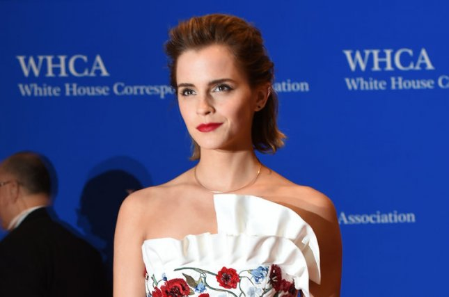 Emma Watson arrives on the red carpet prior to the White House Correspondents Association Dinner at the Washington Hilton on April 30, 2016. The actress will play Mae Holland in The Circle. File Photo by Molly Riley/UPI