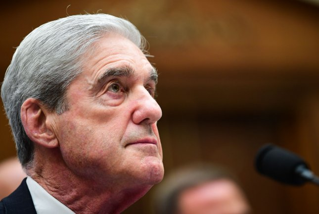The U.S. Court of Appeals granted a Justice Department request to block the release of grand jury materials from the Mueller report to a House committee. Photo by Kevin Dietsch/UPI