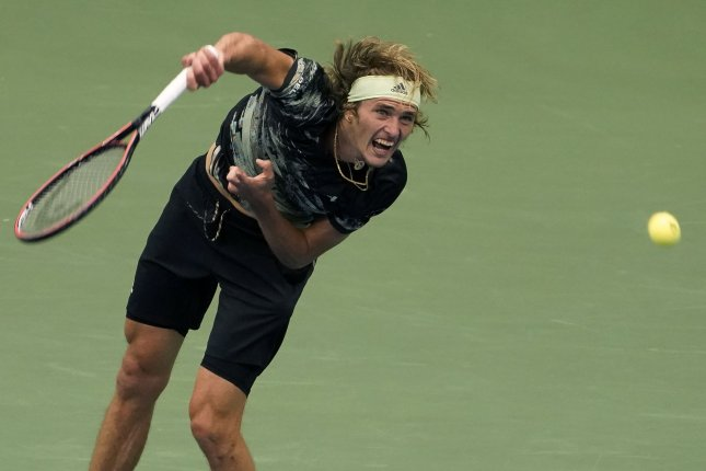 Alexander Zverev (pictured) is the youngest male finalist at any major tournament since Novak Djokovic, who reached the U.S. Open final in 2010 at age 23. File Photo by Ray Stubblebine/UPI