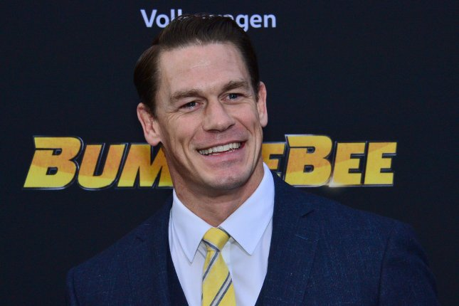 John Cena will star in Peacemaker, an action comedy exploring the origins of the DC Comics character. File Photo by Jim Ruymen/UPI
