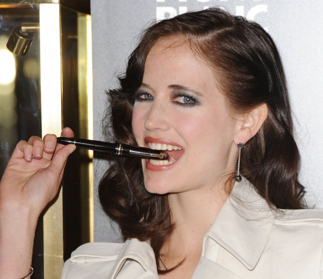 French actress Eva Green attends a photocall to promote the new Montblanc Meisterstuck Diamond writing instrument at Harrods in London on May 4, 2010. UPI/Rune Hellestad